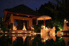 Bali by night