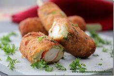 Croquettes de pommes de terre / surimi
