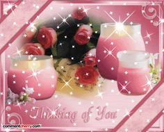 Pink Candles, Glitter Graphics, Love Is Sweet, Free Images, Alcoholic Drinks, Messages, Table Decorations, Photo And Video, Birthday