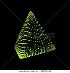 Pyramid. Regular Tetrahedron. Platonic Solid. Regular, Convex Polyhedron. Geometric Element for Design. Molecular Grid. 3D Grid Design. 3D Technology Style.
