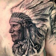 Native American Drawing, Native American Tattoos, Native Tattoos, Native American Quotes, Hip Tattoos Women, Leg Tattoos, Sleeve Tattoos, Tattoos For Guys, Indian Skull Tattoos