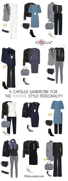 A capsule wardrobe for the minimalist style personality