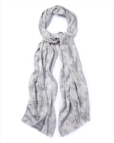 Jaeger Woven Basket Print Scarf. Scarves are a great accessory and can add both colour and style to your outfit. Try tying them in different ways until your happy with the way it fits on your body shape.