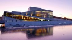 The Norwegian national opera and ballet, designed by Snøhetta. www.snoarc.no