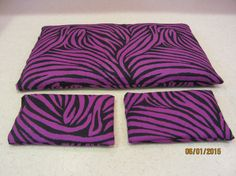 Dark Purple Stripe Hot & Cold Packs by MomsDownTime on Etsy #Etsy #hotandcold #booboo #therapy #momsdowntime