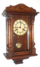 Klock Antique Wall Clock, Regulator Junghay Original Abaut 1900 Germany 8 Day