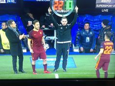 WHAT A LEGEND  WE WILL MISS YOU TOTTI <3 Football Daily, Football Soccer, Daily News, Real Madrid, Life