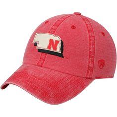 51f2da36e39 Nebraska Cornhuskers Top of the World Stateline Adjustable Snapback Hat -  Scarlet