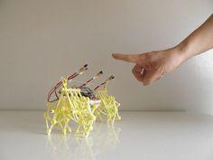 Mini Strandbeest goes electric with Arduino