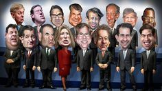 16 Republicans Candidates for POTUS, not one of these pandering gutless sh*ts has RENOUNCED the CONFEDERATE FLAG...a symbol of BIGOTRY+ RACISM!! But then again you have to play to your base !!!