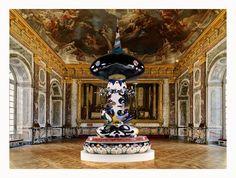 Japanese Pop artist Takashi Murakami at Versailles