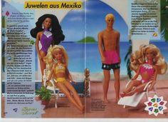 barbie-journale - frühling 1994