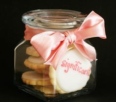 Mason Jar - Cookies w/ Adorable Presentation