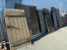 reclaimed barn doors