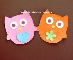 Papírové výřezy s několika vrstvami Cool Art, Owl, Owls