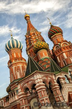 Saint Basil's Cathedral by Ander Aguirre on 500px