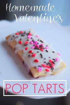 Homemade Valentine's Pop Tarts