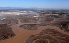 The river mingles with the tidal channels of the estuary. Photo credit: Francisco Zamora, Sonoran Institute, with aerial support from LightH...
