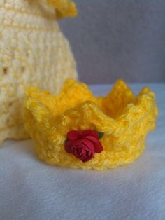 crochet Disney's Belle from 'Beauty and the by momscrochetcorner