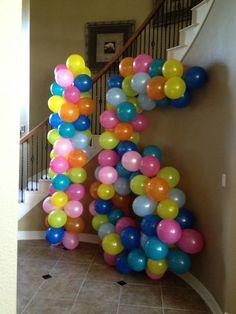 Sweet16 birthday balloons!