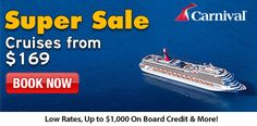 Looking for a Great Cruise! Click Here! Best Price Guarantee, Low Price Assurance, No Booking Fees & Weekly Cruise Deals. Book Now! http://www.jdoqocy.com/click-7848170-7299361-1433363730000