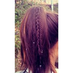 Hair Styles for Long Brown Hair ❤ liked on Polyvore featuring beauty products, haircare, hair styling tools, hair, hairstyles, cabelo, hair styles and coiffure