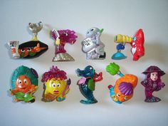 Kinder Surprise Set  Aquashow Marine Animals by KinderSurpriseToys