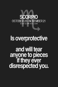 Zodiac Mind - Your source for Zodiac Facts Scorpio Zodiac Facts, Scorpio Traits, Scorpio Love, Zodiac Signs Scorpio, Scorpio Horoscope, Scorpio Quotes, Zodiac Mind, Horoscope Signs, My Zodiac Sign