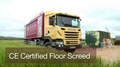 Fast Floor Screed Mobile Screed Factory | Alpha Hemihydrate Flowing Screed