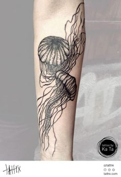 jellyfish tattoo - Google Search