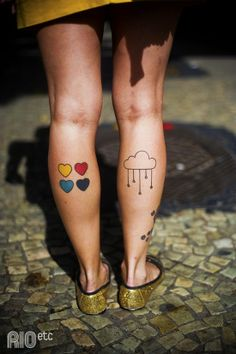 Calf tattoo. Loving the placement.