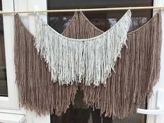 Large Wall hanging, yarn wall art, macrame, birthday gift, room decoration, bohemian art