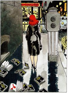 Jacques Tardi - ill. In magazine (A SUIVRE) - 1995