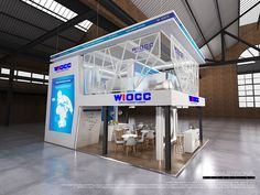 Custom Exhibition Stand for WIOCC at AfricaCom 2016