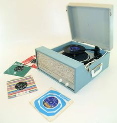 Dansette  I saved all my Christmas and Birthday money for years to buy a record player (in about 1959??) and it lasted me into my student days, and early teaching - about1975