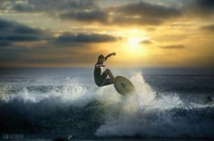 Evening surfing - Air Creek by Jeff Dotson on 500px