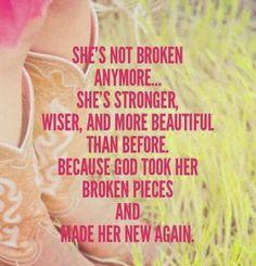❥ not broken anymore