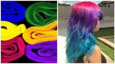 Mit Rote Beete oder Krepppapier die Haare färben? Klingt erst mal merkwürdig, doch es funktioniert! In Zukunft kannst Du auf chemische Haarfärbemittel verzichten!