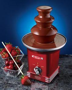 Fonte de Chocolate Retro Series™ Nostalgia Electrics - <b>Lançamento!</b>