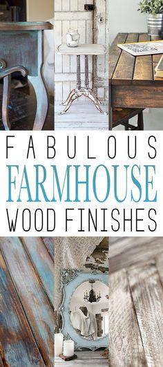 Fabulous Farmhouse Wood Finishes - Page 9 of 9 - The Cottage Market Country Farmhouse Decor, Farmhouse Kitchen Decor, Farmhouse Chic, Diy Furniture Projects, Furniture Makeover, Rustic Design, Rustic Decor, Shabby Chic Furniture, Painted Furniture
