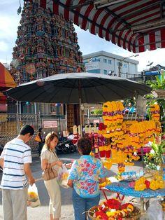 Bangkok's main Hindu Temple at Silom