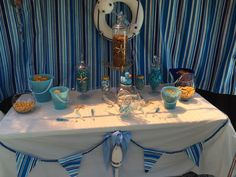Sweet table nautical shower