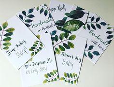 Flat Lay Cards Printable Flatlay A6 Card Set Prop Cards