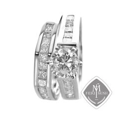 Global Wealth Trade Corporation - FERI Designer Lines Gold And Silver Rings, Silver Engagement Rings, Bridal Rings, Luxury Jewelry, Jewelery, Bridal Collection, Band, Gifts, Processing Time
