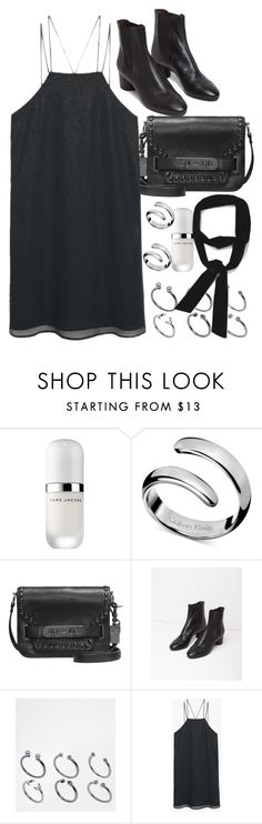 """""""Untitled #7959"""" by nikka-phillips ❤ liked on Polyvore featuring Marc Jacobs, Calvin Klein, Coach, Isabel Marant, ASOS, MANGO and Zara"""
