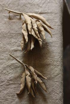 ホワイトセージ コサージュ | White Sage Corsage - Vintage fabric | IRRE