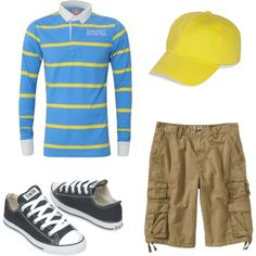 JOJO by alycurry on Polyvore featuring Rampant Sporting, Old Navy, Brooks Brothers, Converse, seussical, pac, costumes and eastern