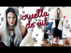 DIY CRUELLA DE VIL COSTUME TUTORIAL - YouTube