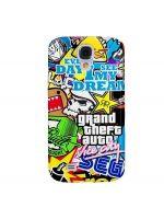 Funda Samsung Galaxy GTA Sticker #stickergta #galaxys3 #gta