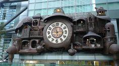 Hayao Miyazaki skirt | Karakuri Tokei Automaton Clocks: In Search Of Lost Time In Tokyo